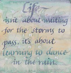 """""""singin' and dancin' in the rain"""""""