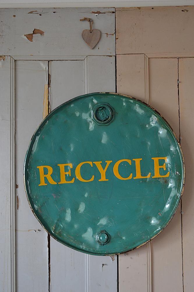 Industrieel wandobject (Industrial wall object) www.blossombrocante.nl
