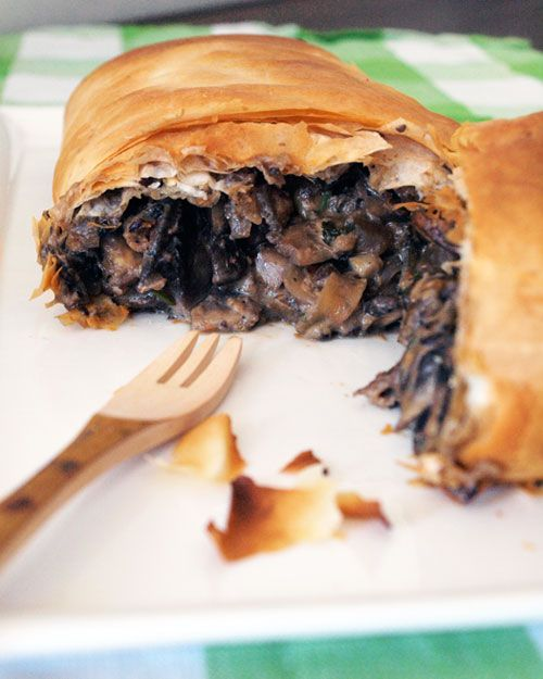 Mushroom Strudel {Via Fig & Cherry} | Food | Pinterest