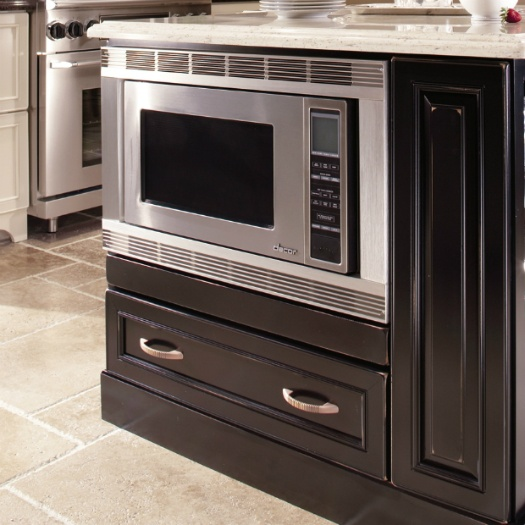 Kitchen Cabinets For Microwave: Microwave Cabinet With Drawer