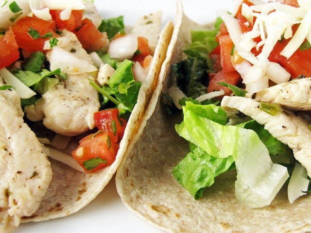 Lime Chicken Soft Tacos | Mouthwatering Journey | Pinterest