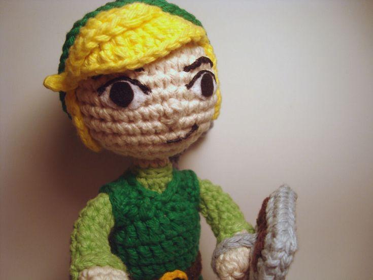 Small Amigurumi Animal Patterns : Legend of Zelda - Toon Link Amigurumi Crochet/Amigurumi ...