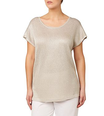 Shimmer Knit Top | Plus Size Clothing for Women Sizes 12 to 24 Womens