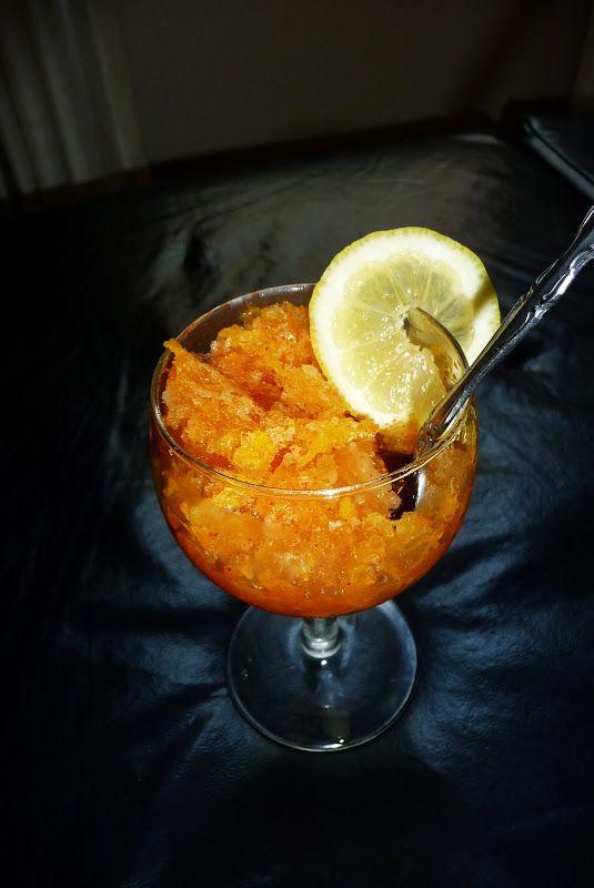 Champagne-and-Orange Granita Cocktail Recipes — Dishmaps