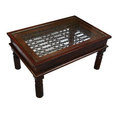 Sheesham Wood Glass Top Coffee Table Things That Would Make A House