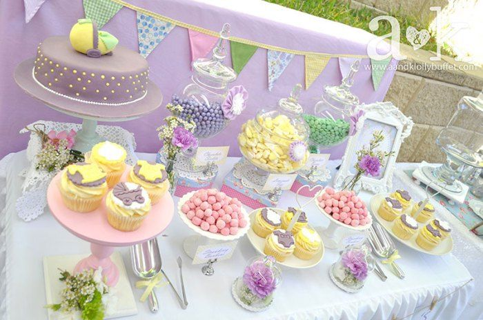 vintage pastel baby shower ideas baby shower ideas pinterest