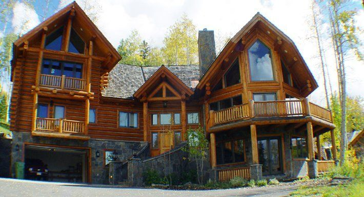 Log Cabin In The Woods I Love Dream Home Pinterest