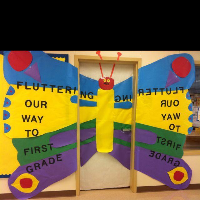 Butterfly Classroom Decorations : Butterfly door classroom decor pinterest