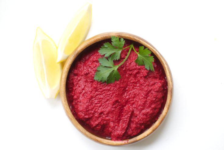 Beet hummus | Foodie | Pinterest