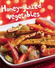 Honey-glazed vegetables | I'm in the mood... for food! | Pinterest