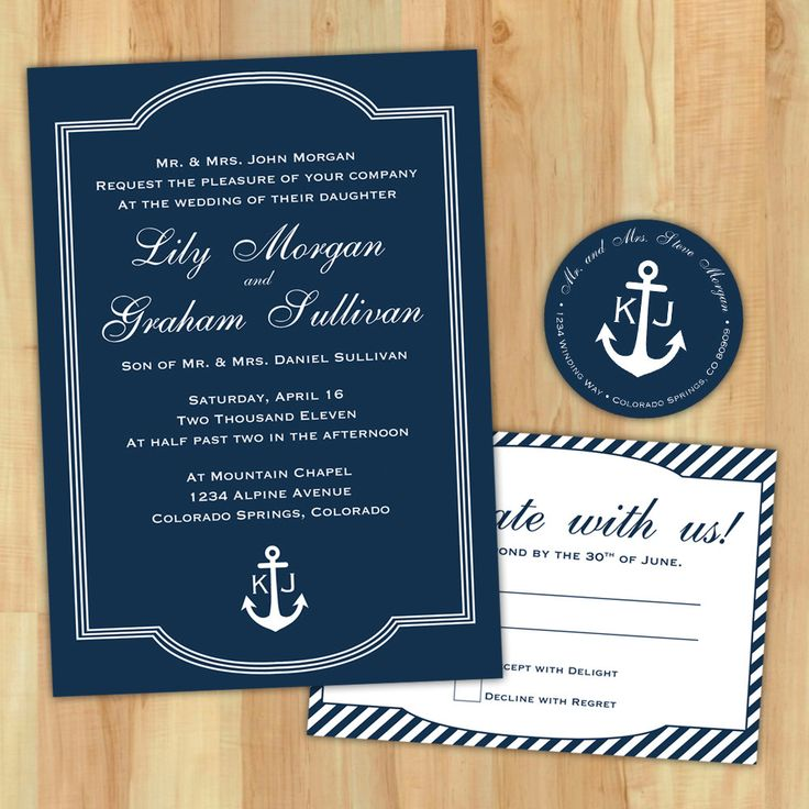 Here Diy Sailboat Invitations