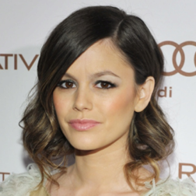 Faux bob wedding hair-Rachel Bilson | All things Wedding | Pinterest