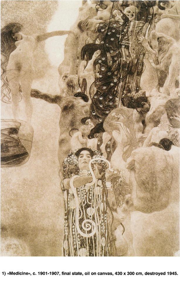 Medicine - Gustav Klimt   Art, Artwork, Artists!   Pinterest