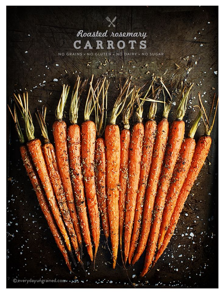 Rosemary Roasted Carrots Recipes — Dishmaps