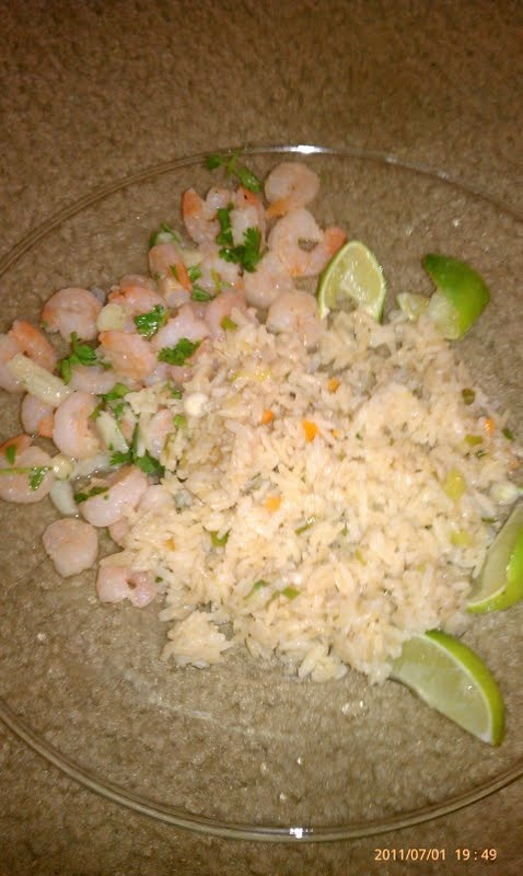 Scallion Cilantro Rice With Habaneros And Lime Recipe — Dishmaps