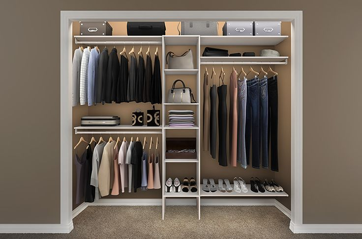 reach in closet storage design ideas ideal rooms pinterest