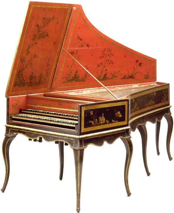 Love the harpsichord. A lady at our old church had one. They sound so pretty.