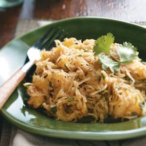 squash with moroccan spices recipe a tasty way to eat spaghetti squash ...