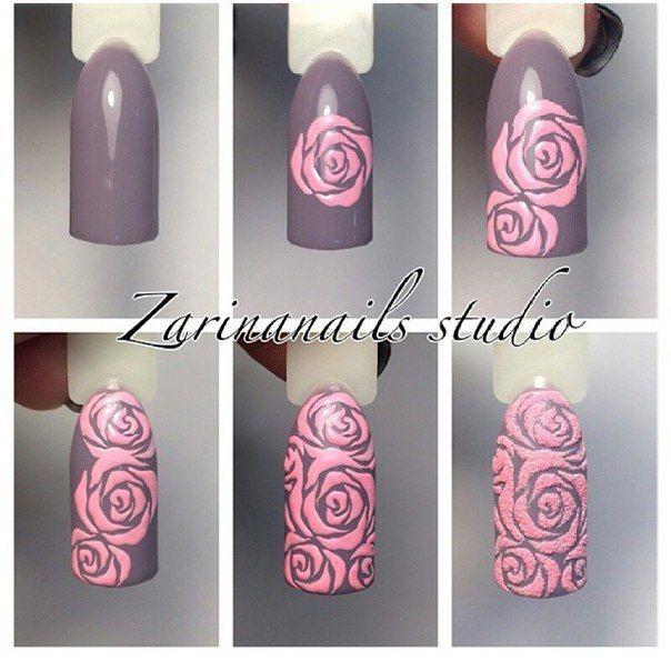 Дизайн розы пошагово