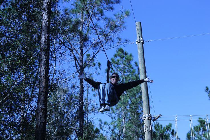 simon ziplining