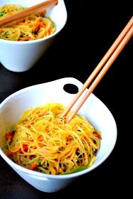 Singapore Fried Rice Noodles | Recipes | Pinterest