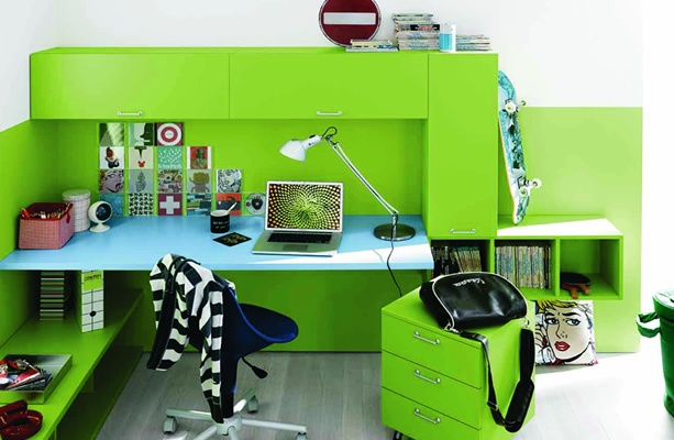 ... slaapkamers waar studenten van dromen(3).Italiaans design