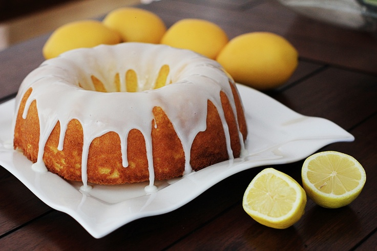 Easy Lemon Cake ~ | Favorite Movies | Pinterest