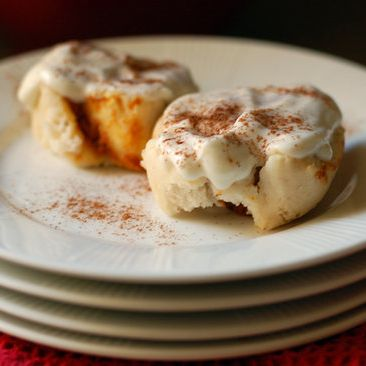 Savory Sight: Pumpkin Cinnamon Rolls