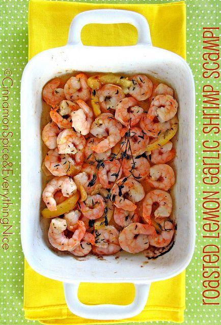 Roasted Lemon Garlic Herb Shrimp, this happened, and it ruled