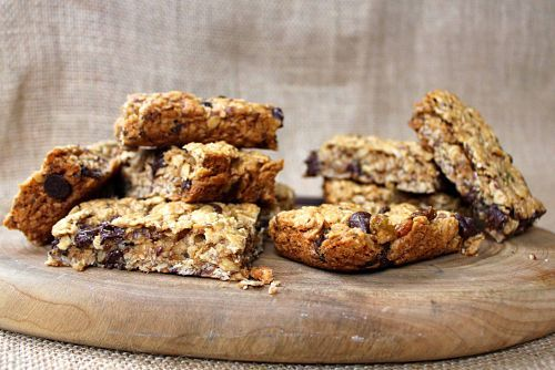 Thick & Chewy Peanut Butter Granola Bar recipe... looks amazing and ...