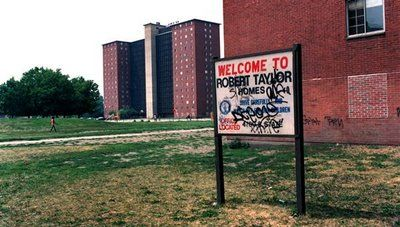 The Robert Taylor Homes  Chicago  ILRobert Taylor Homes