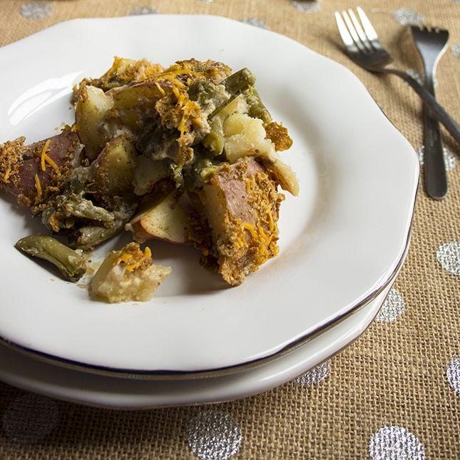 Skinny Green Bean and Potato Casserole | Skinny Mom | Where Moms Get ...