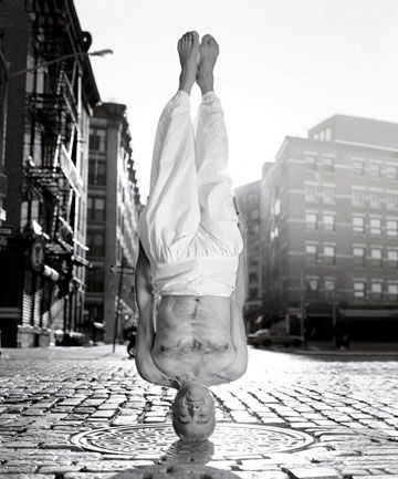 I would be thrilled if I could one day just do an unsupported headstand using my arms as a base. This? This is crazy.