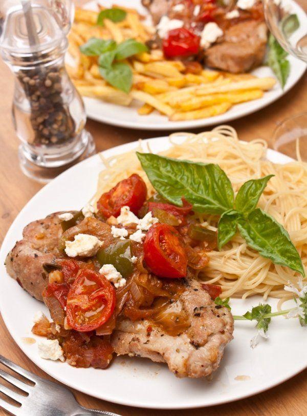Italian Breaded Tenderloin Pork Chops Recipe #porkchop #recipe