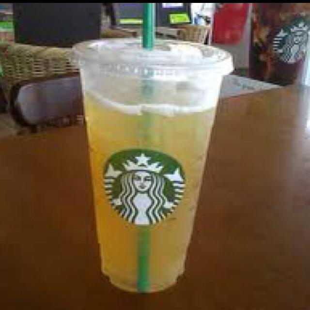 Starbucks iced green tea. Unsweetened. | My Favorite ...