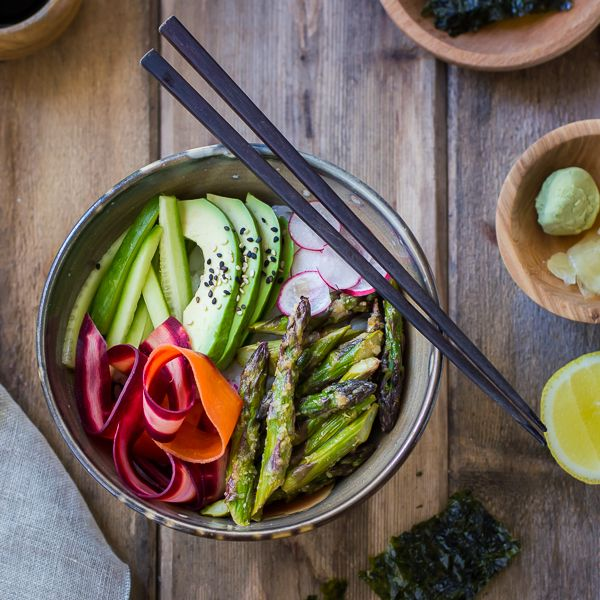 The Bojon Gourmet: Miso-Roasted Asparagus and Pickled Carrot Sushi ...
