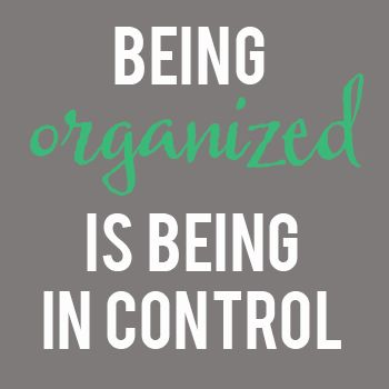 Being Organized Will Give You More Free By Deniece
