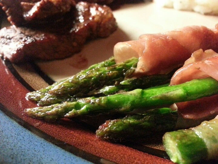 Prosciutto wrapped asparagus | Primal Feast Foods. We make, we feast ...