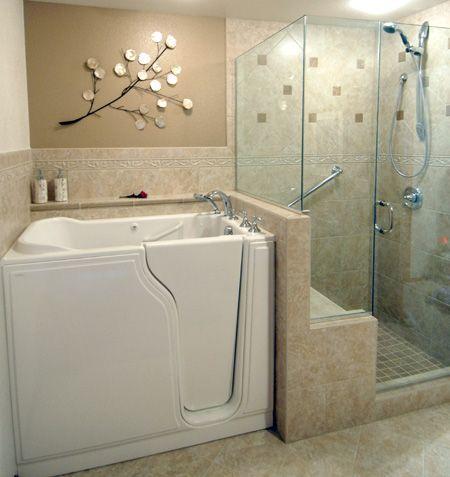 walk in bathtub in law suite ideas pinterest