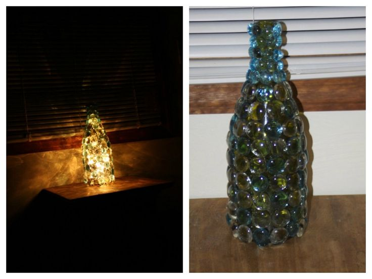 diy homemade twinkle nightlight