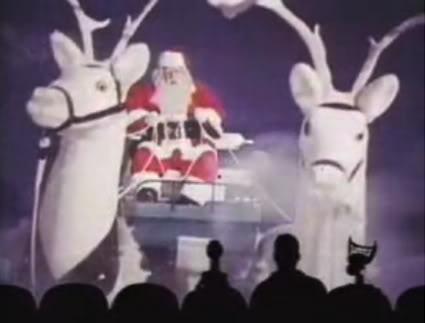 Mechanical reindeer laughing = Nightmares