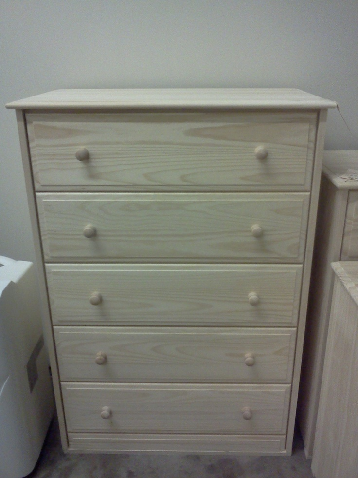 Chest of drawers unfinished wood furniture pinterest