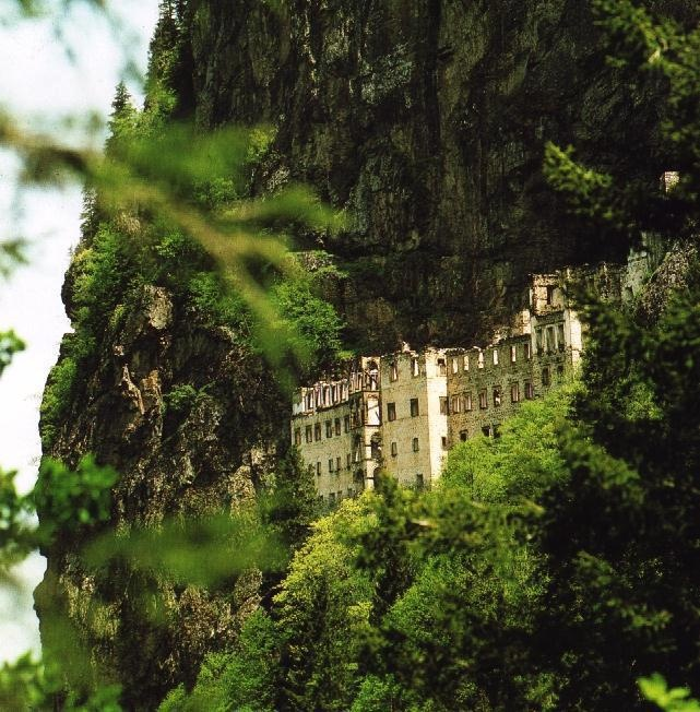 Sumela Monastery / Trabzon - Turkey  Cool Structures ...