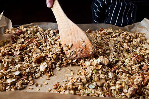 Nekisia Davis' Olive Oil and Maple Granola | Recipe