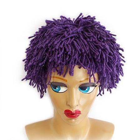 Crochet Wig : Crochet Wig Hats crochet ideas Pinterest