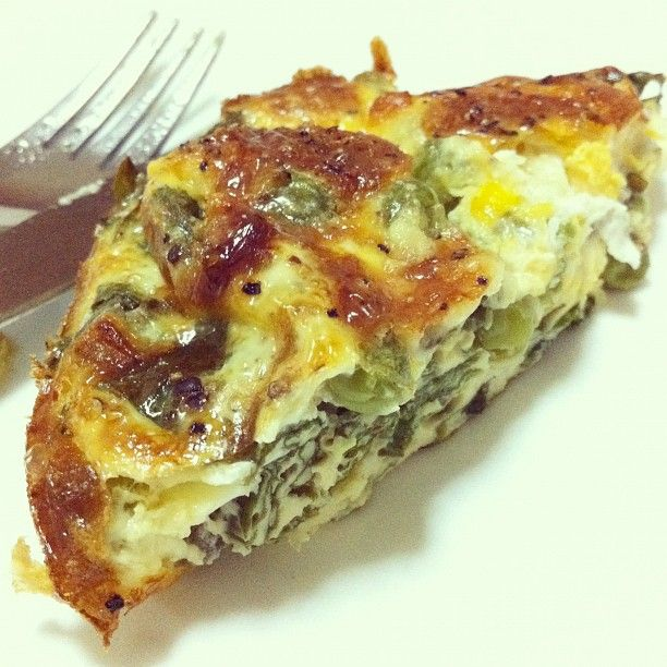 Tried out the spinach & mozzarella egg bake recipe. Needs bacon and ...