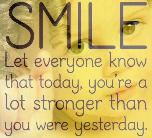 inspirational smile quotes | me | Pinterest