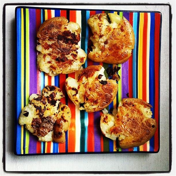 Skillet Smashed Potatoes | Food & Drink | Pinterest