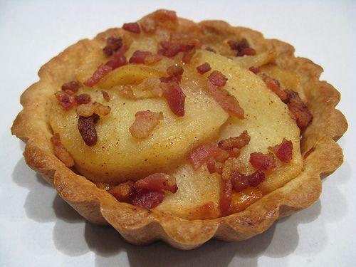 Cheddar Apple Bacon Tarts! Yum! | Favorite Recipes | Pinterest
