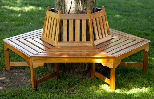 Wrap Around Tree Bench Camping Wedding Extravaganza Pinterest